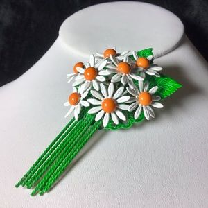 🎁VINTAGE Daisy Bouquet Brooch